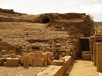 Alabanda - Ancient Greek theatre