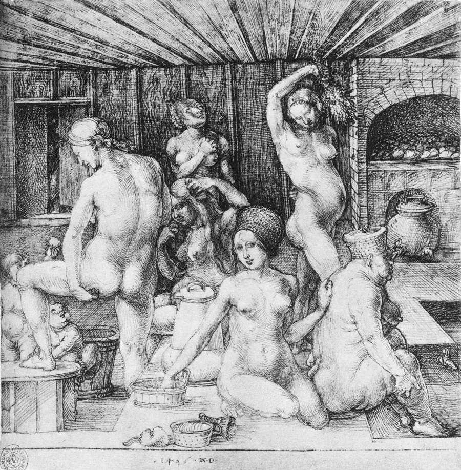 Albrecht Dürer - The Women's Bath - WGA7041