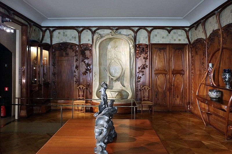 File alexandre charpentier boiserie della sala da pranzo for Pianta della sala da pranzo