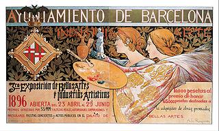3ra. Exposición de Bellas Artes é Industrias Artísticas