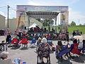 Algiers RiverFest 2012 Powells Trad Jazz All Stars on Stage.JPG