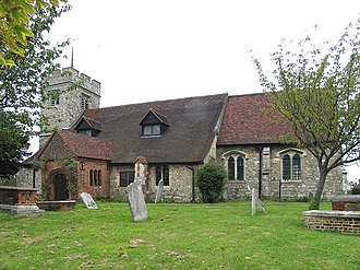 Chingford - All Saints Church, Old Church Road, E4