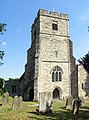 All Saints, Ulcombe, Kent - Tower - geograph.org.uk - 328362.jpg