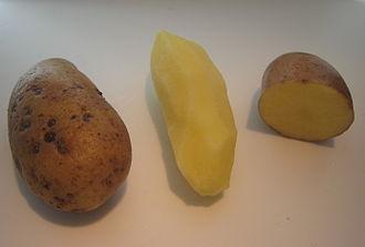 Almond potato - 'Almond' potatoes