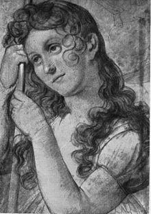 Amelie Wolff-Malcomi als Jungfrau von Orleans (Quelle: Wikimedia)