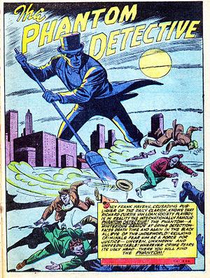 The Phantom Detective - Image: Americas Best Comics 2635