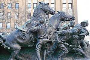 Military Park (Newark) - Wars of America statue