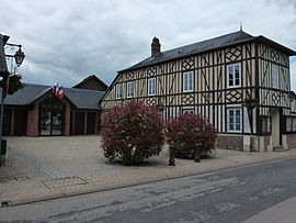 The town hall in Amfreville-la-Campagne