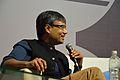 Amit Chaudhuri - Kolkata 2014-01-31 8211.JPG