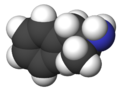 Spacefill model of dextroamphetamine