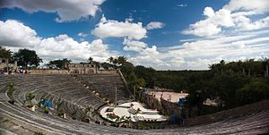 Amphitheater in Altos de Chavón, La Romana, Dominican Republic