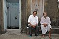 Amrit Gangar With Sushil Kumar Chatterjee - Kolkata 2017-03-10 0661.JPG