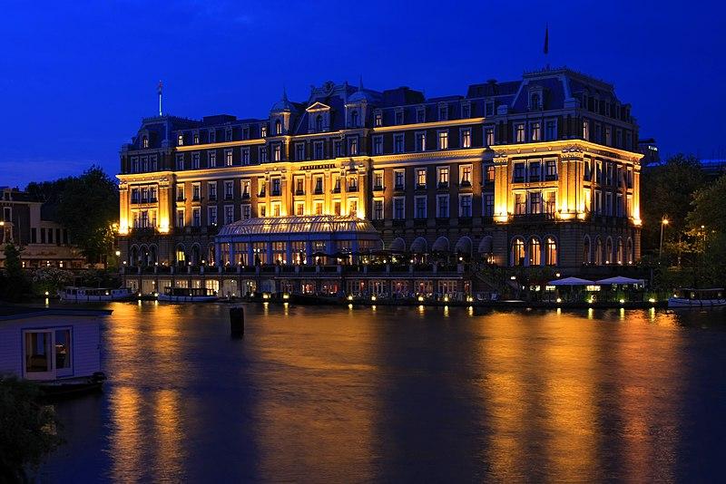 Amstel hotel in amsterdam monument for Kerstbrunch rotterdam