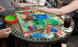 Risk (game) - A game of Risk being played
