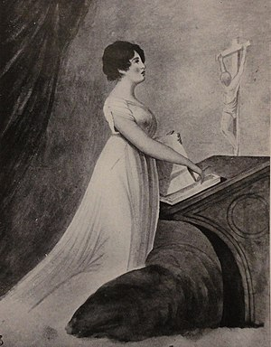 Amy Brown (royal mistress) - Portrait of Amy Brown by an unknown artist