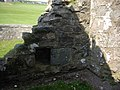 An aumbry in the wall of the ruined chapel - geograph.org.uk - 1379303.jpg