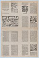 An uncut sheet printed on both sides with pages from 'Ademdai' and 'Agraciado- El niño de un jeme' MET DP873191.jpg