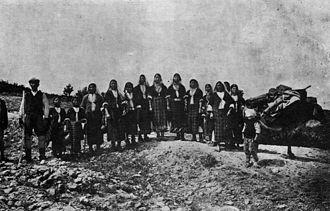 Anatolian Bulgarians - Anatolian Bulgarian refugees from Çataltepe in Bulgaria in 1914