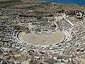Ancient Greek theatre in Delos 02.jpg