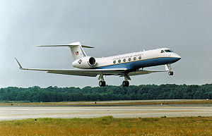 310th Airlift Squadron - C-37 Gulfstream V as flown by the 310th Airlift Squadron
