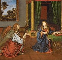 Andrea Solari: Annunciation
