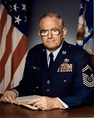 Arthur L. Andrews - 7th Chief Master Sergeant of the Air Force (1981-1983)