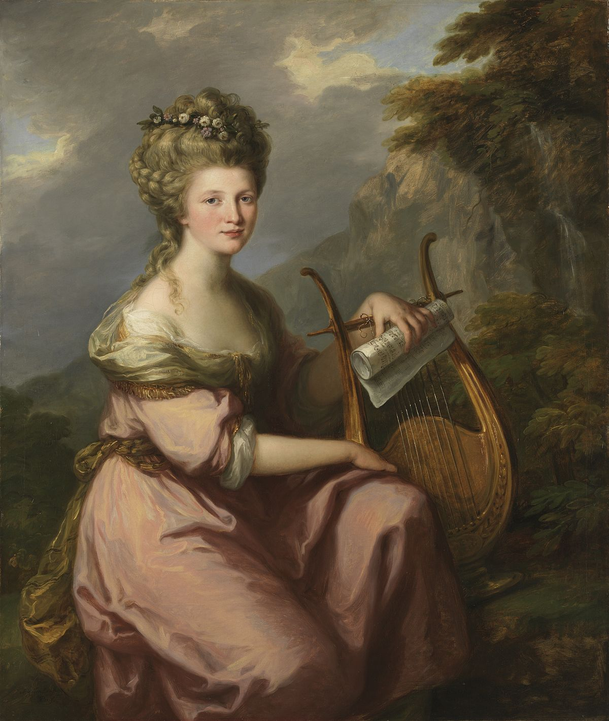 Angelica Kauffmann S Paintings Are In Romanticisim