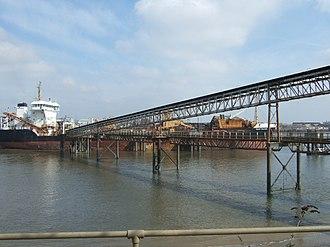 Angerstein Wharf - Image: Angerstein Wharf Charlton