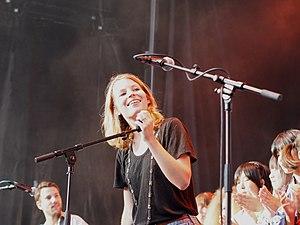 Anna Rossinelli - Anna Rossinelli at the Openair auf dem Bundesplatz 2012, Bern
