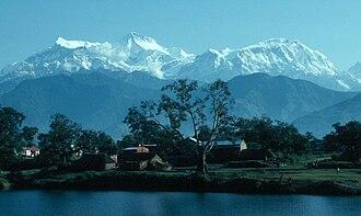 Annapurna IV - Image: Annapurna Lamjung Himal