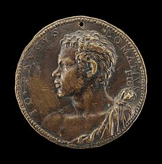 Giovanni Paolo Lomazzo, 1538-1600, Milanese Painter and Theorist [obverse]