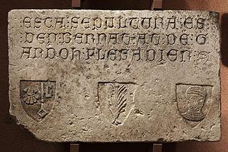 Épitaphe de Bernat at de Gardoh