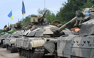 Armed Forces of Ukraine - T-64BM