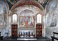 Antonio del massaro, cappella ponziani in s. cecilia in trastevere, 1470 ca. 01.jpg