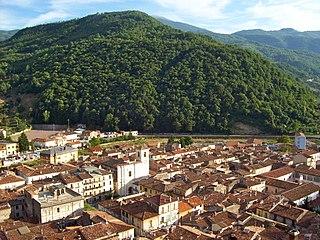Antrodoco Comune in Lazio, Italy