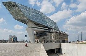 Antwerpen-haven, het gebouw the Port of Antwerp IMG 0256 2019-06-24 15.18.jpg