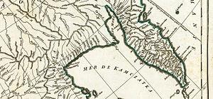 Jean Baptiste Bourguignon d'Anville - Jean-Baptiste Bourguignon d'Anville: Troisième partie de la carte d'Asie, contenant la Sibérie, et quelques autres parties de la Tartarie, Paris (1753)