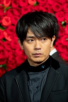 "Aoyagi Sho from ""jam"" at Opening Ceremony of the Tokyo International Film Festival 2018 (45619173941).jpg"