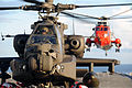 Apache Helicopter Operations on HMS Ark Royal MOD 45151995.jpg