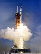 Apollo-Soyuz Test Project Saturn IB launch