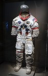 Apollo A7L spacesuit, worn by Alan Shepard, Apollo 14 mission, ILC Industries - Kennedy Space Center - Cape Canaveral, Florida - DSC02887.jpg
