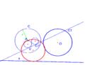 Apollonio un punto una retta una circonferenza 3.PNG