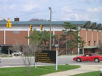 Varsity Gymnasium - Image: App Varsity Gym OUTSIDE