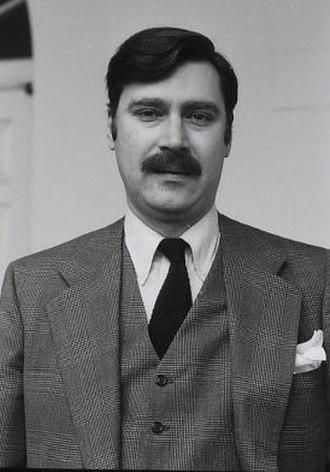 Aram Bakshian - Image: Aram Bakshian 1981