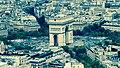 Arc de Triomphe vu de la Tour Eiffel.jpg