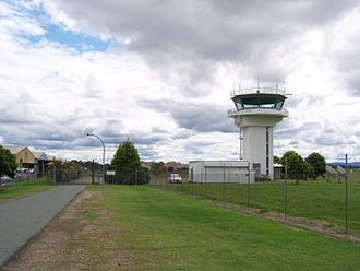 Archerfield Airport - Archerfield air traffic control tower