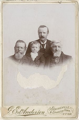 George Edward Anderson - Image: Archibald Gardner and family