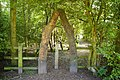 Archway into woodland below the visitors centre, Sale Water Park - geograph.org.uk - 447238.jpg