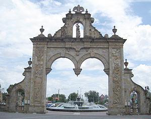 Zapopan - Entrance arch