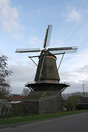 Arkel - Windmill in Arkel